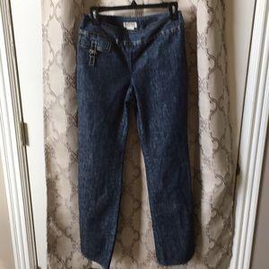 Michael Kors side zipper jeans size 8